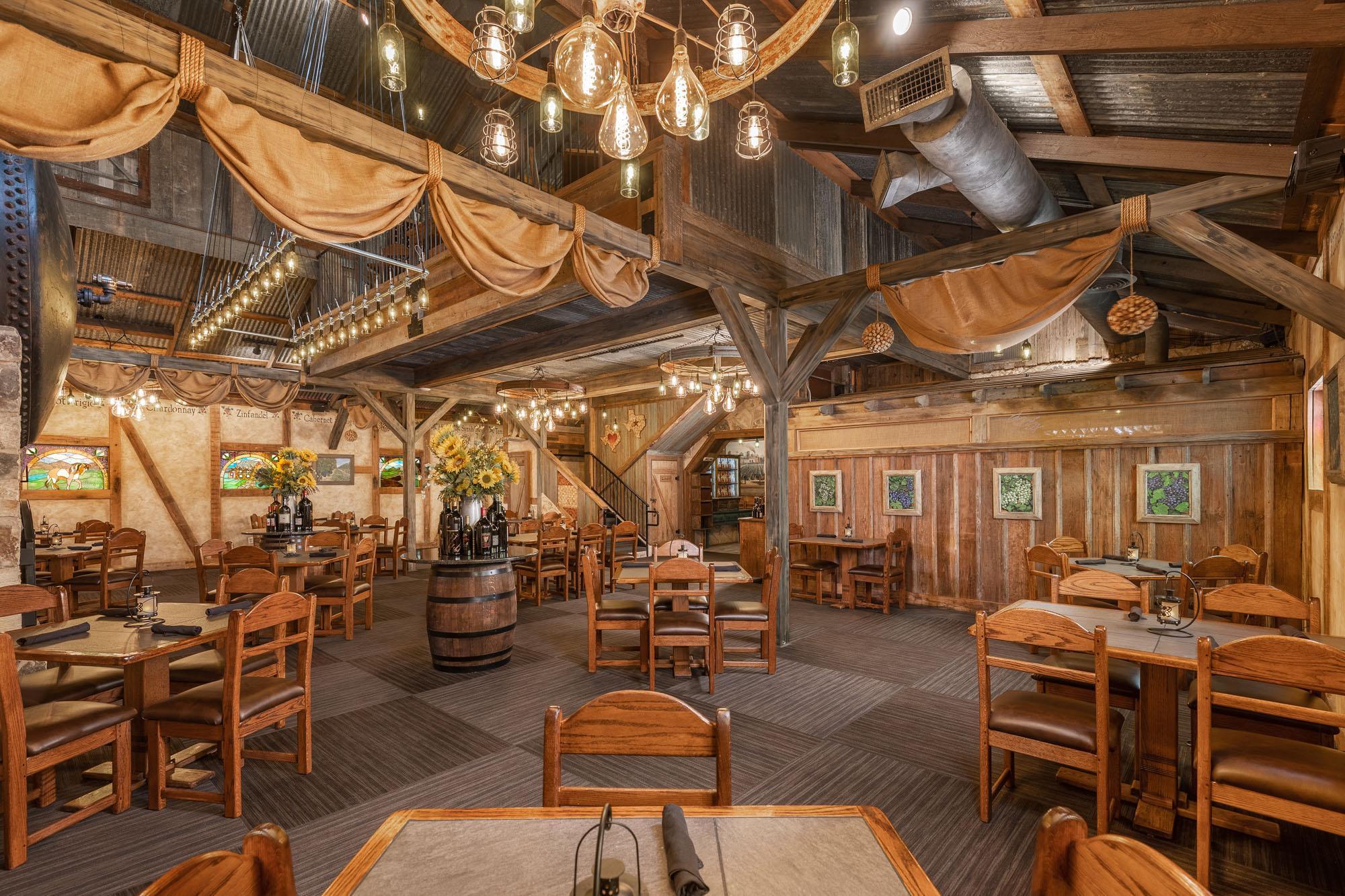 Cabernet Grill Restaurant Interior